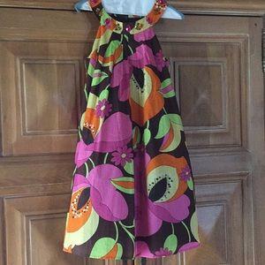 Vintage Style Paisley Dress